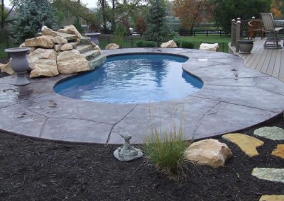 Stamped Concrete Pool Decks Design – 1