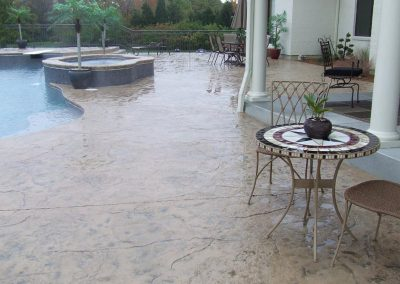 Stamped Concrete Pool Decks Design – 4