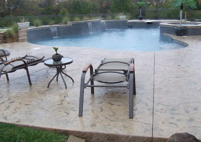 Stamped Concrete Pool Decks Design – 3