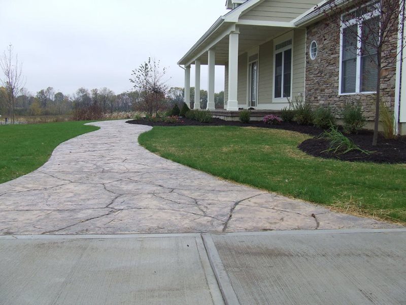 Stamped Concrete by MyConcretebyDesign