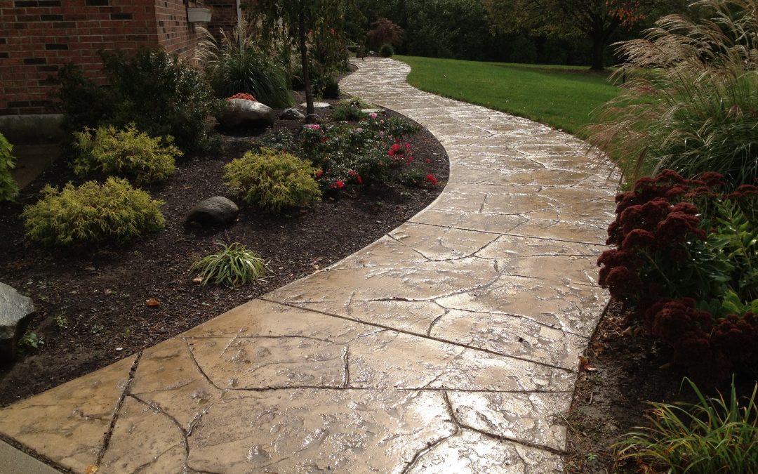 Stamped Concrete Walkways Design – 2