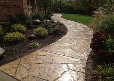 Stamped Concrete Walkways Design – 2