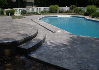 Stamped Concrete Pool Decks Design – 7