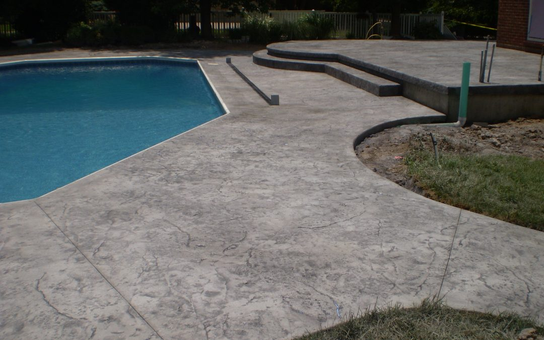 Stamped Concrete Pool Decks Design – 8