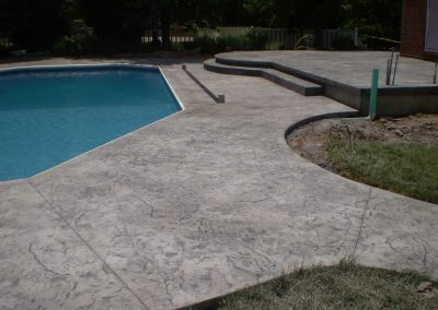 Stamped Concrete Pool Decks Design – 8