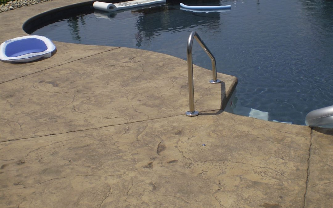 Stamped Concrete Pool Decks Design – 6