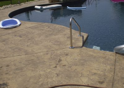 Stamped Concrete Pool Decks Design – 6