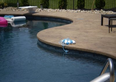 Stamped Concrete Pool Decks Design – 5