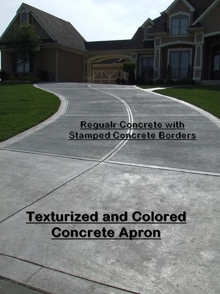 Stamped concrete driveways-1 - CBD