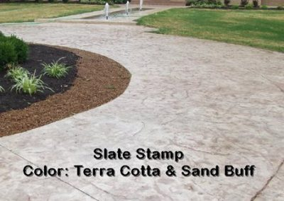Stamped Concrete Driveway Design – 2