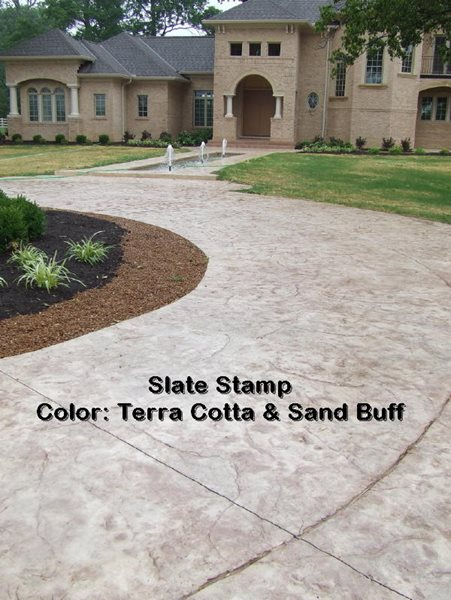 Stamped concrete driveways-2 - CBD
