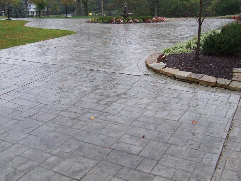 Stamped concrete driveways - CBD
