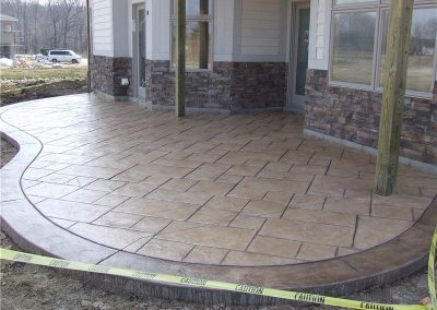Stamped Concrete Patio Design – 1
