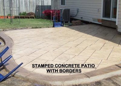 Stamped Concrete Patio Design – 3