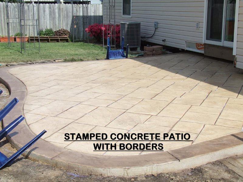 Stamped Concrete Patio -3 - CBD