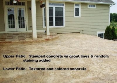 Stamped Concrete Patio Design – 4