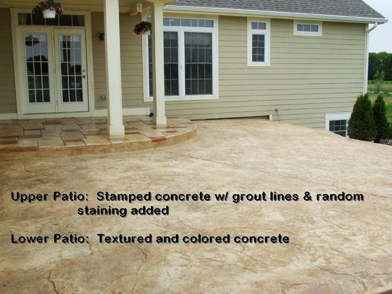 Stamped Concrete Patio -4 - CBD