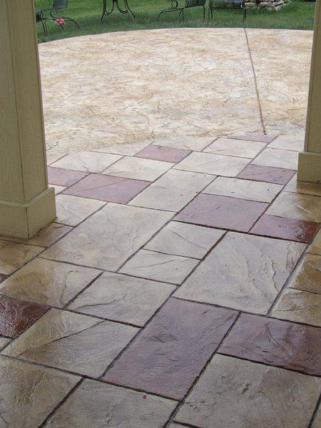 Stamped Concrete Patio Design – 5