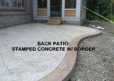 Stamped Concrete Patio Design – 6