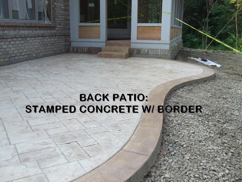 Stamped Concrete Patio -6 - CBD
