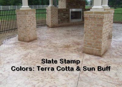 Stamped Concrete Patio Design – 7