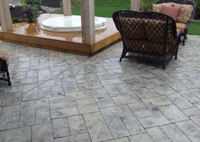 Stamped Concrete Patio Design – 8
