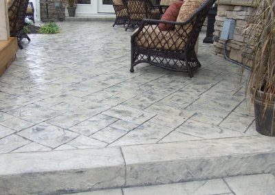 Stamped Concrete Patio Design – 2