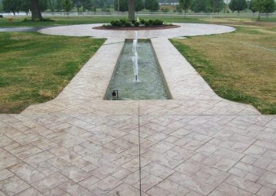 Stamped Concrete Walkways Design – 1